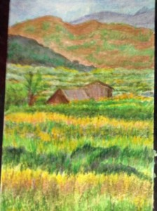 Sapa before the harvest by Denise