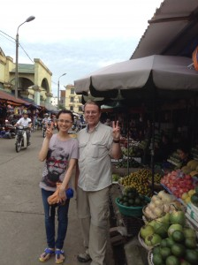 Thao gives us a wonderful tour of the market