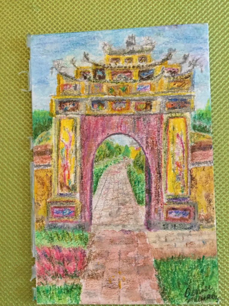Hue archway up close.