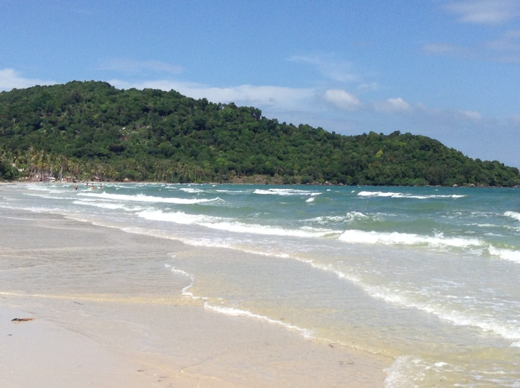 Amazing Vung Bao Beach in the north.