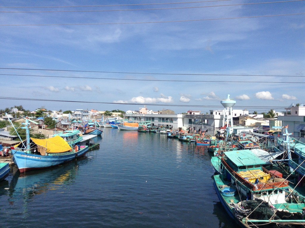 Another beautiful fishing boat port. To