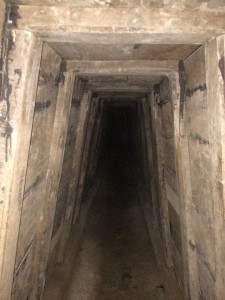 We followed the tunnels for about 1\4 kilometer to emerge out of a different hole. It is amazing that people actually lived down there!