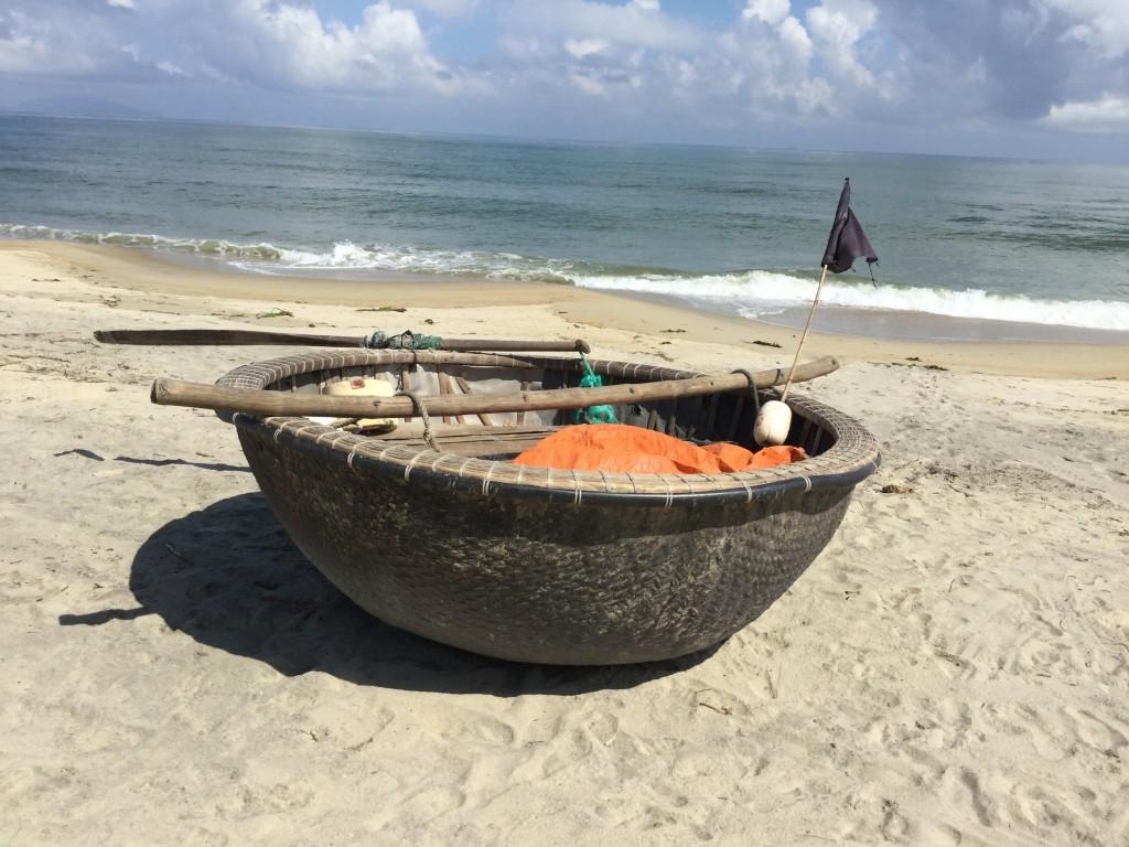 The fisherman's boat.