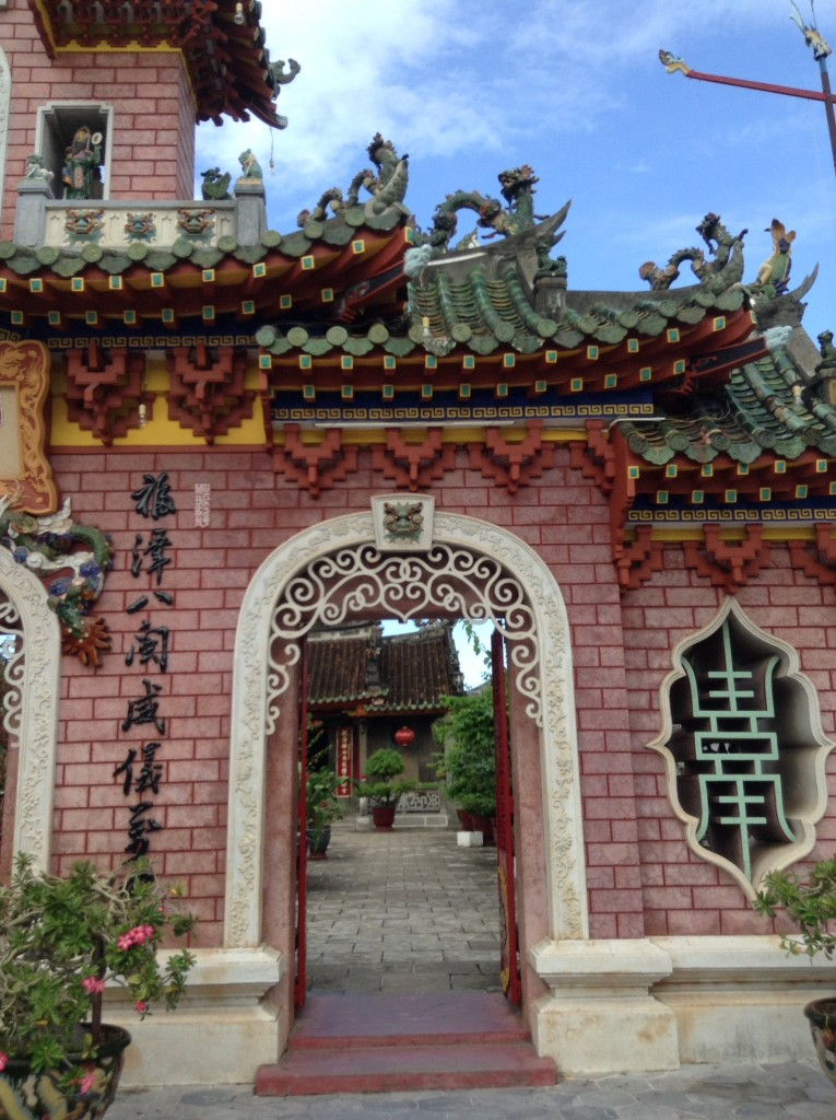 Cool old arcitechure abounds in Hoi An!