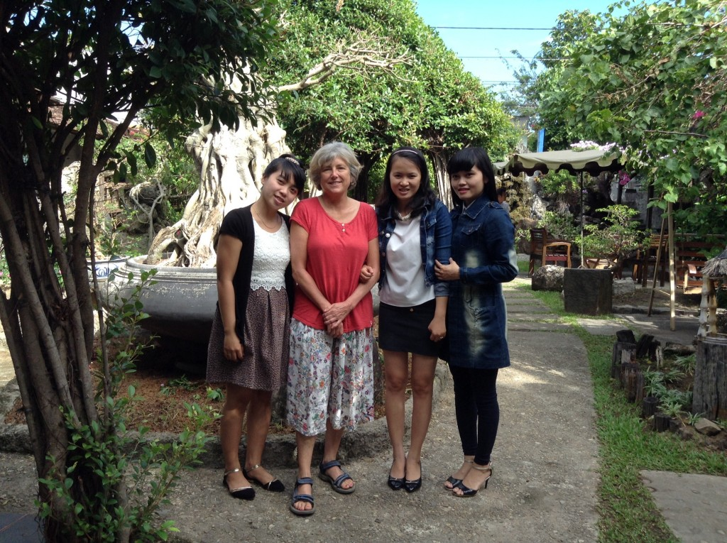 Some of our dear teachers during a tour of Kon Tum.