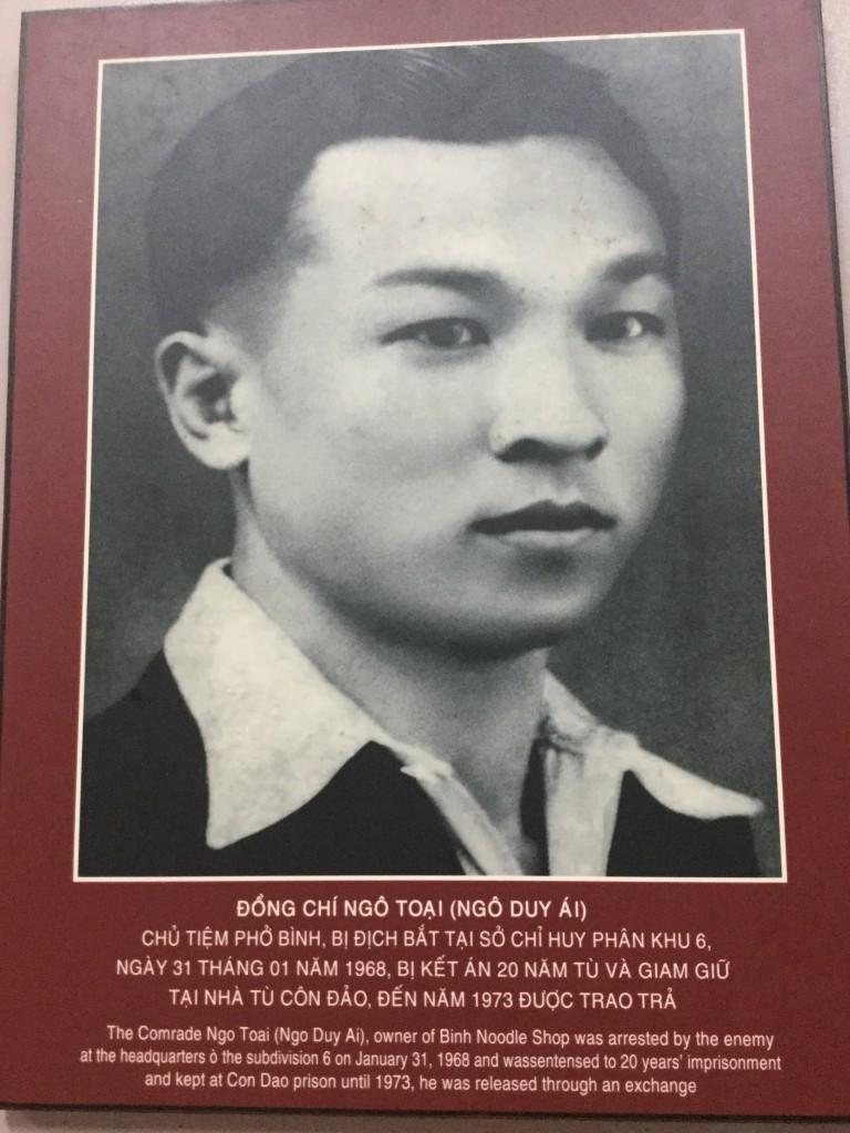 Photo of Mr. Toai