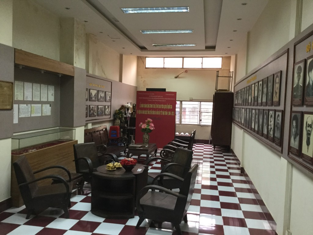 Upstairs room at Pho Binh where the 1968 Tet Offensive attacks against Saigon were planned