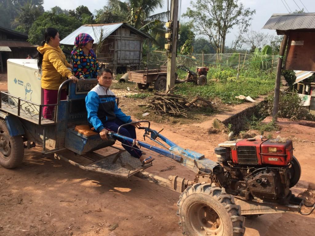 Local village transport.