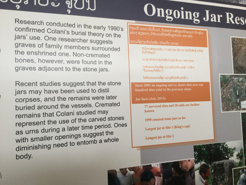"Information available at the Site 1 visitors center. ""Colani"" refers to Madeleine Colani, a French"