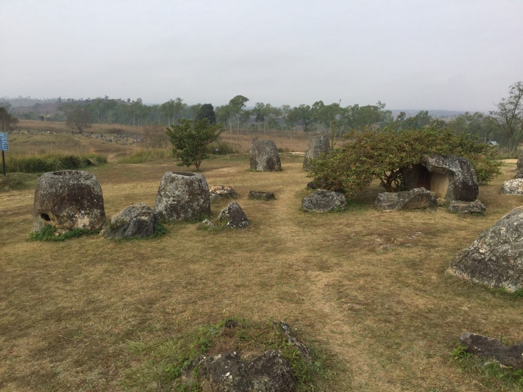 A view of part of Jar Site 1.