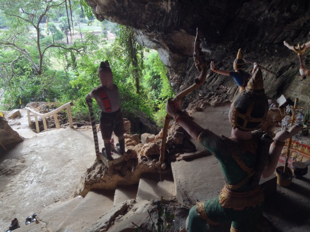 Creatures of Tham Pha In cave.