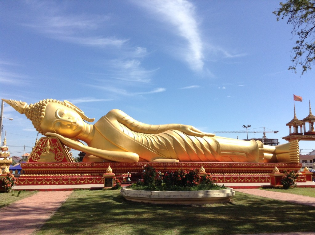 Our first reclining Buddha!