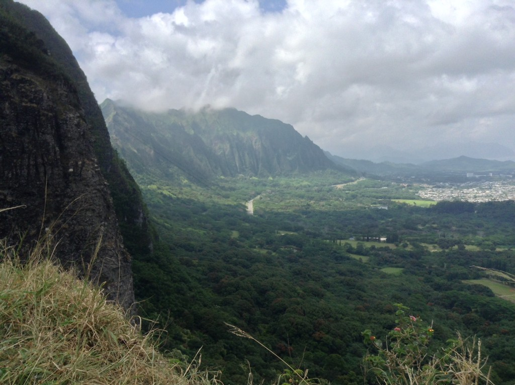 Another amazing view on Oahu.